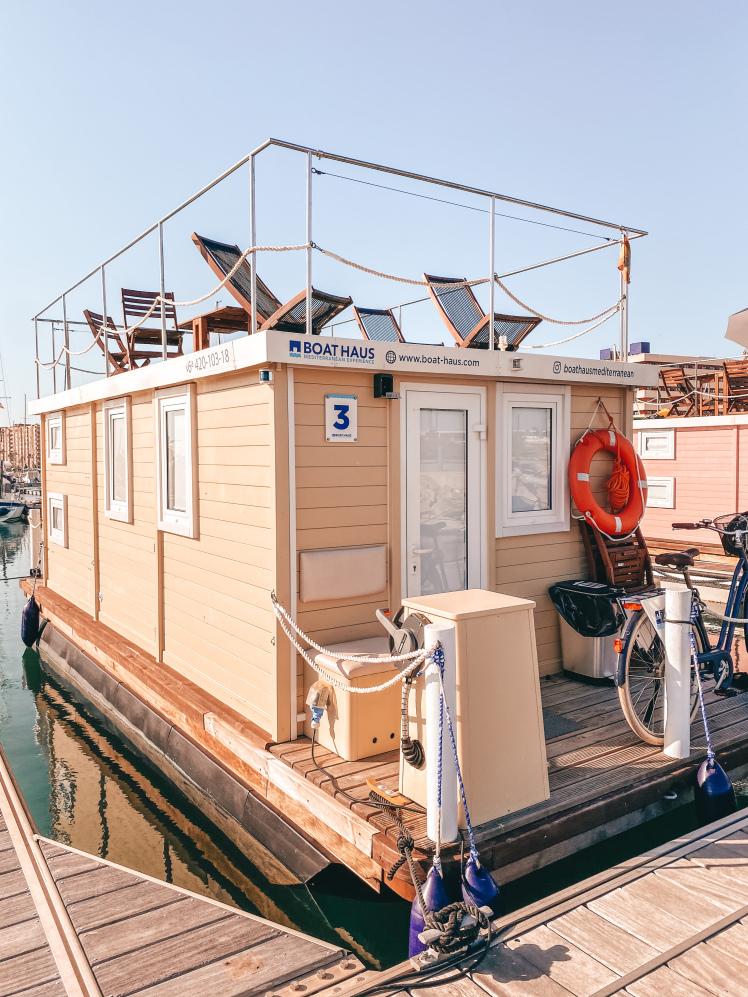 Casa barco, casa flotante